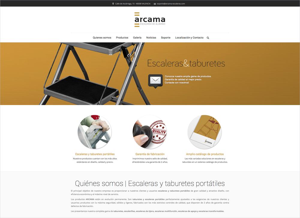 web Arcama