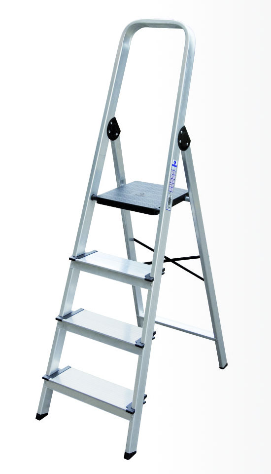 Escalera de tijera de pelda o ancho arcama escaleras for Escaleras 10 peldanos de tijera